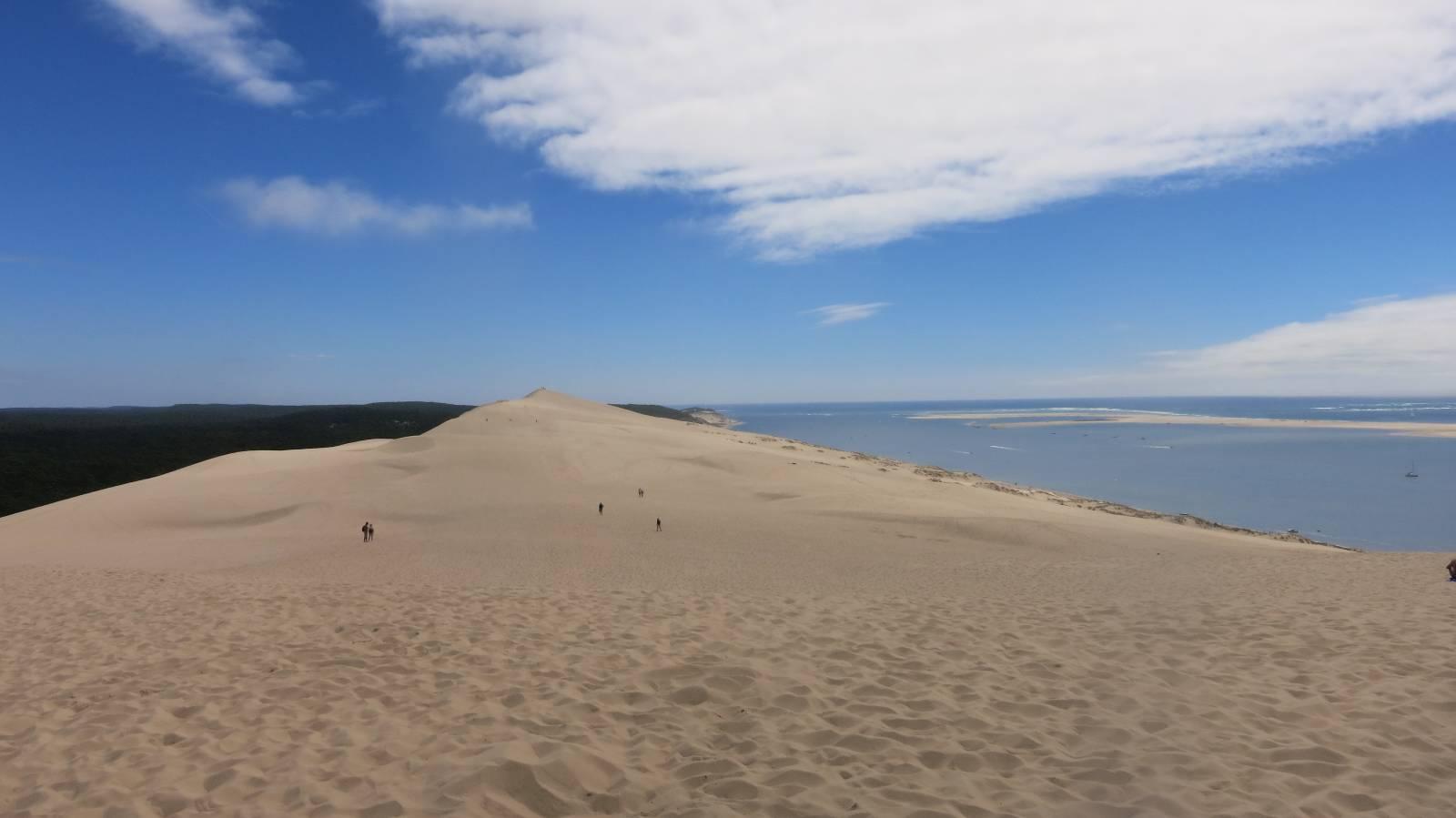Le bassin d 39 arcachon et la dune du pilat les amoureux du monde - Restaurant dune du pilat ...